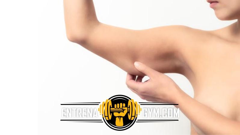 como quitar la flacidez de los brazos