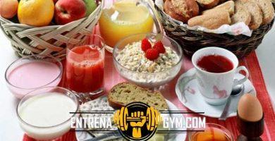 desayuno fitness