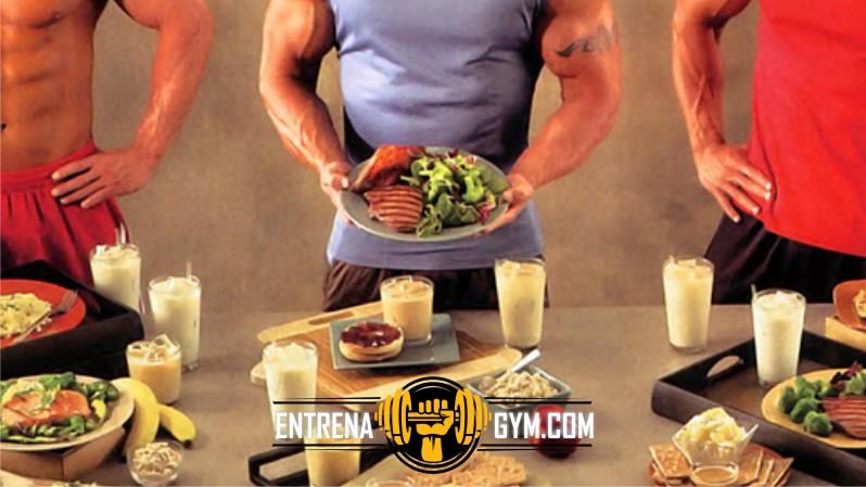 dieta para crecer y marcar la masa muscular