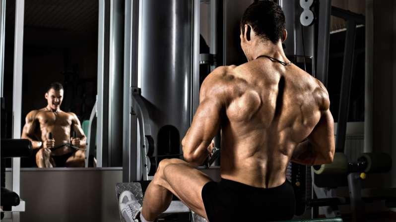 rutina de espalda en el gym