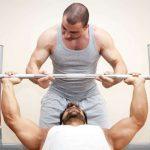 rutina de pecho en gym
